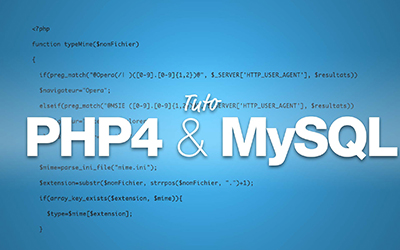 PHP et MySQL |
