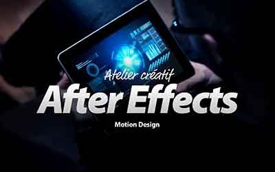 Maîtrisez After Effects - Atelier créatif - Motion Design - Création d'une interface futuriste |