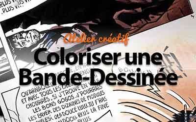 Coloriser une bande dessinée - Atelier créatif Photoshop |