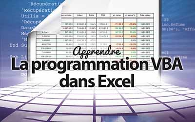 La programmation VBA dans Excel |