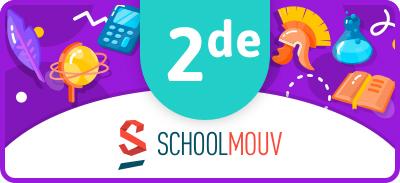 Soutien scolaire (2nd - seconde) - SchoolMouv |
