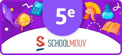 Soutien scolaire (5ème) - SchoolMouv |