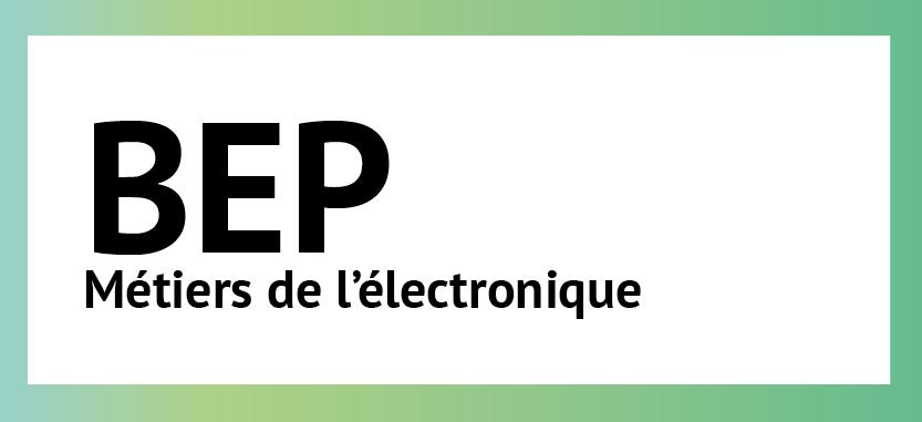 BEP Métiers de l'électronique |