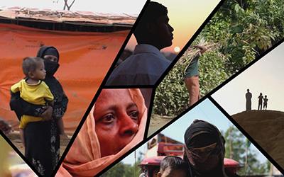 Rohingyas : l'exil  