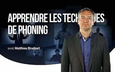 Apprendre les techniques de phoning - Les fondamentaux de la téléprospection |