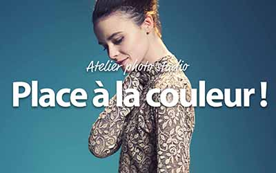 Atelier Photo Studio : Place à la couleur ! |