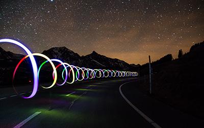 Le Light Painting - La photographie en pose longue |