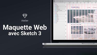 Atelier Sketch 3 - Créer une maquette web |