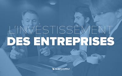 L'investissement des entreprises |
