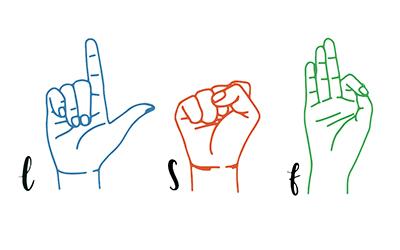 Prochainement disponible : Langue des signes Française |