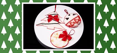 *NOËL* Cousez facilement de jolies décorations de noël avec de la feutrine |