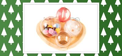 Découvrez 4 idées de boules de noël à faire avec vos enfants ! |