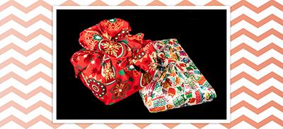 Découvrez les Furoshiki, les emballages cadeaux en tissu |
