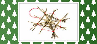 *NOËL* Créez de belles étoiles avec des épines de pin |