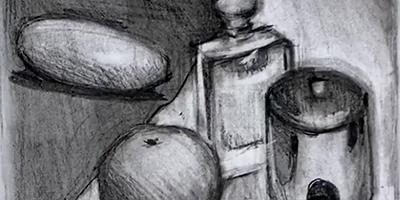 Les bases du dessin | Partie 4 : Composition d'objet au fusain |