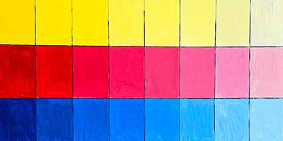 Les bases de l'acrylique   Partie 2 : Le nuancier  