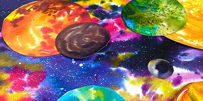 La Galaxie colorée  