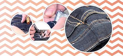 Apprenez à rétrécir la taille d'un pantalon |