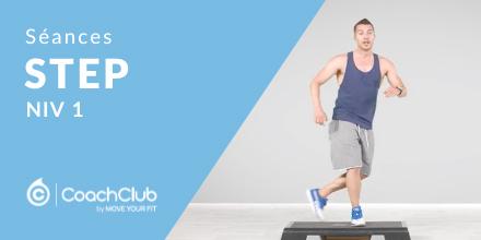Séances de step Niv 1 | Partie 1 |
