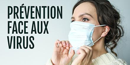 Prévention face aux virus |
